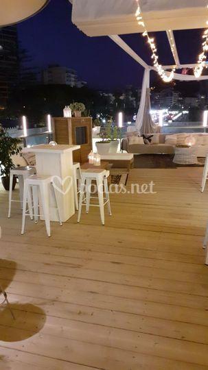 Alquiler taburetes Alicante