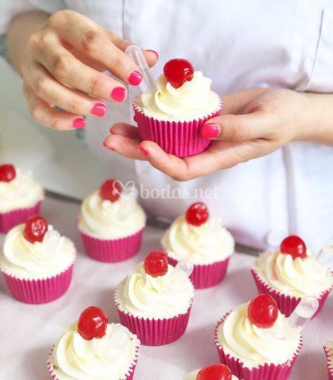 """Cupcake """"con chispa"""""""