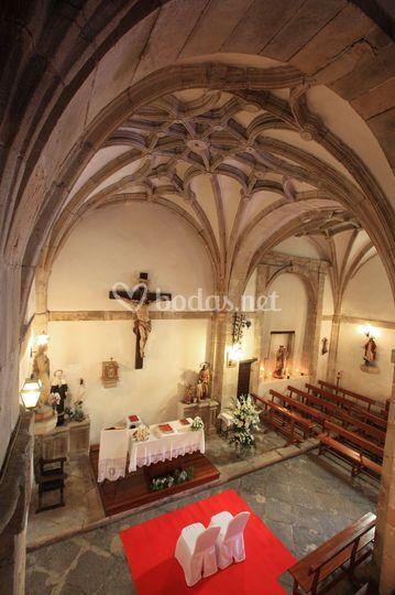El techo y el altar