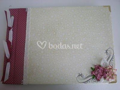 Libro de firmas para boda juvenil