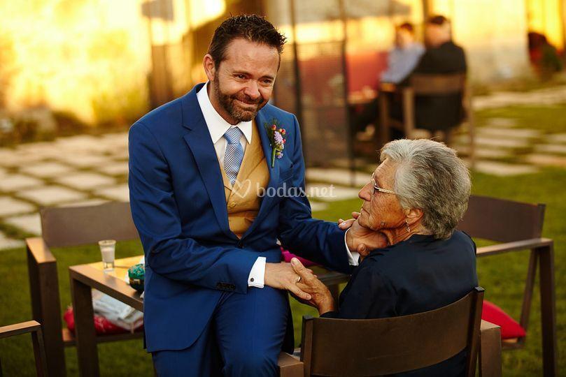 Marcos y su abuela