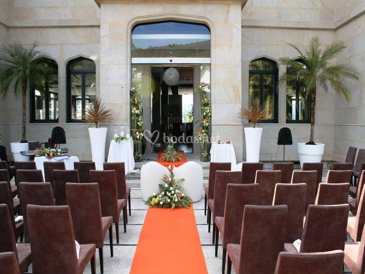 Montaje de ceremonias