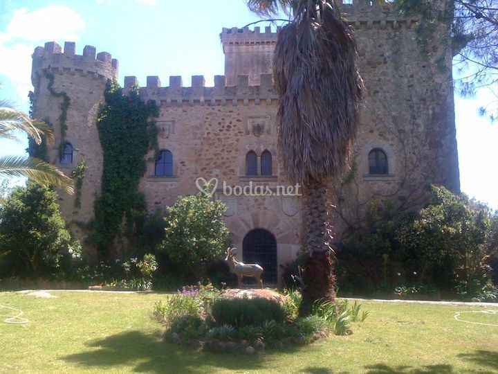 Fachada del castillo