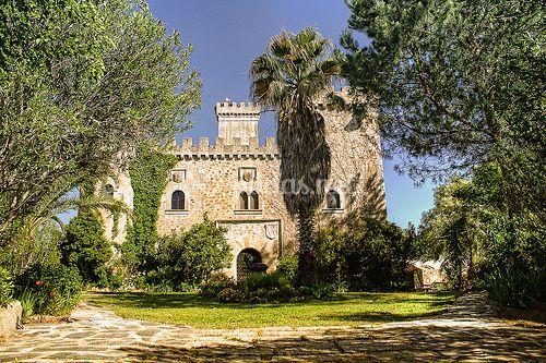 Jardín para celebrar su boda en el exterior de Castillo de las Seguras