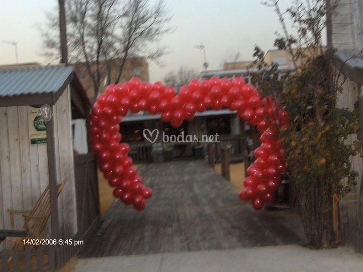 Entrada corazon