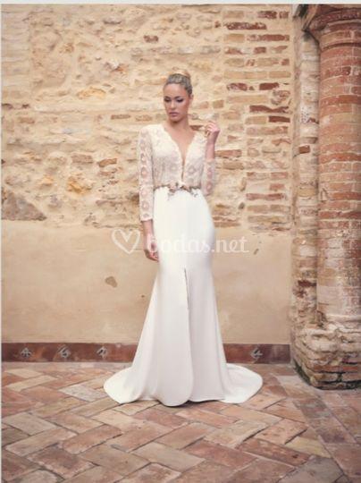 Vestido de novia 2020