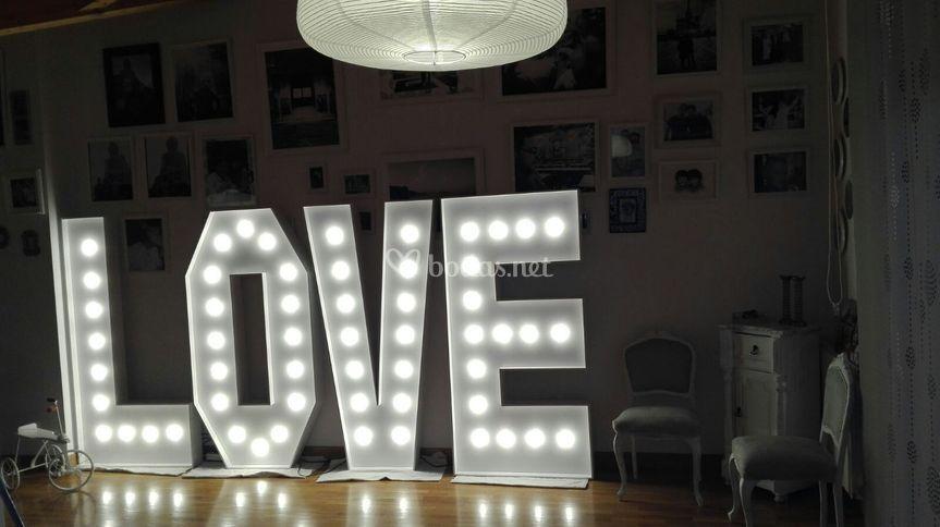 Love iluminado