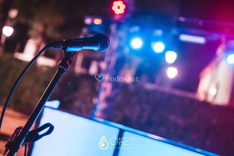 Microfonía para karaoke