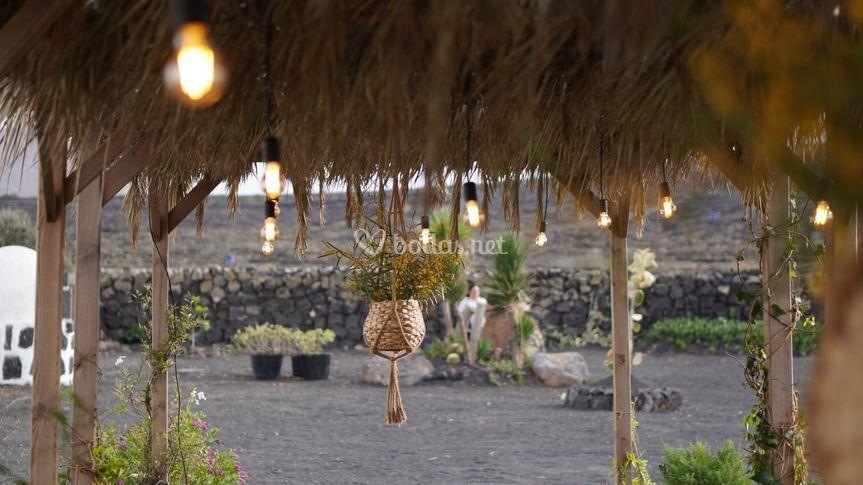 Luces de boda Lanzarote