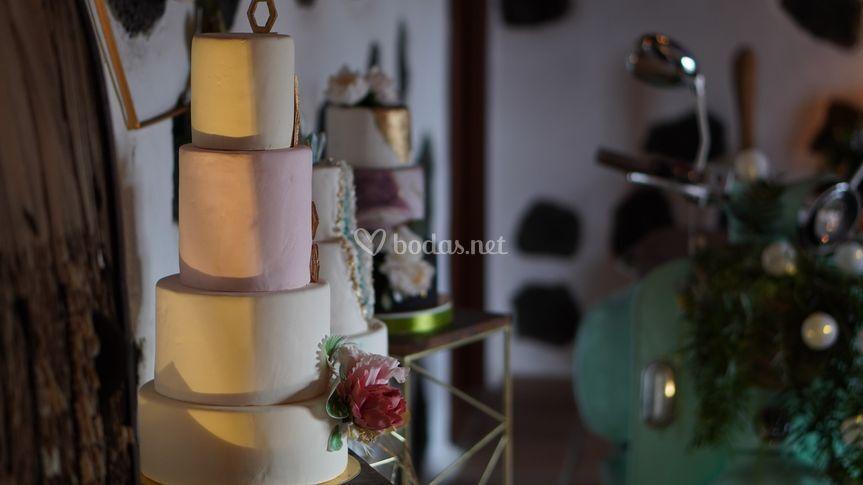 Tarta de bodas Lanzarote