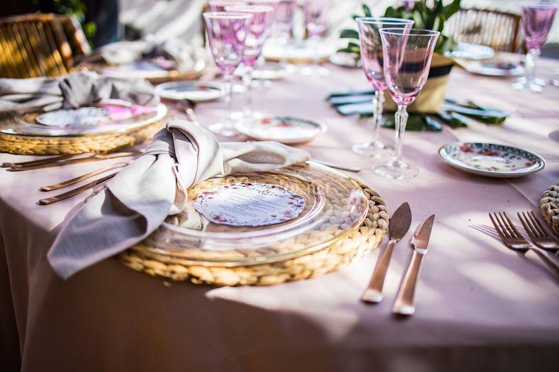Menaje de bodas