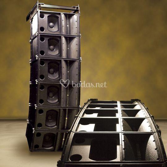 Sistemas de sonido Pro