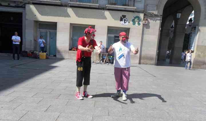 Actuación en la calle