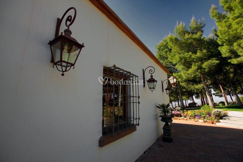 Cerro puerta fachada