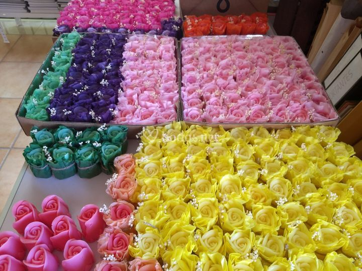Rosas de jabón