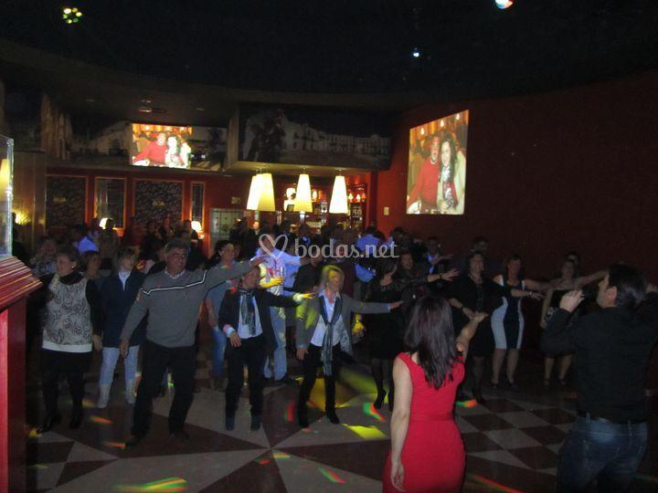 Cena Baile San Valentin 2012