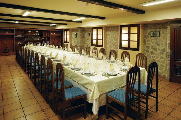 Salón reuniones y banquetes