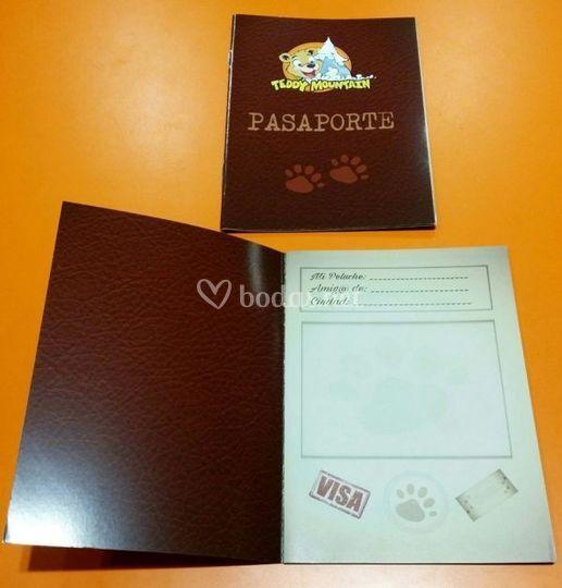 Pasaporte peluche