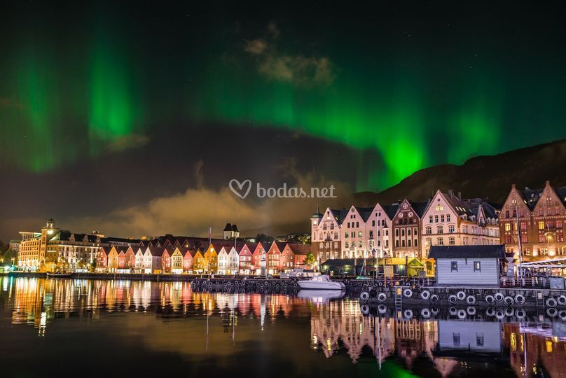 Aurora Boreal en Bergen