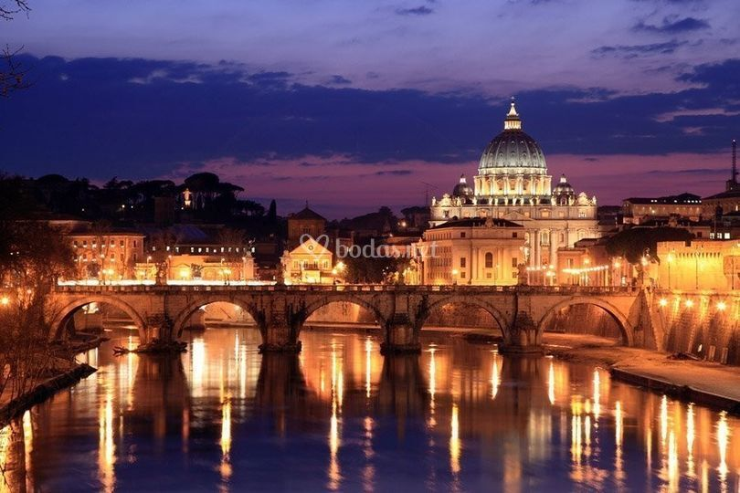 Puente de Sant'Angelo en Roma