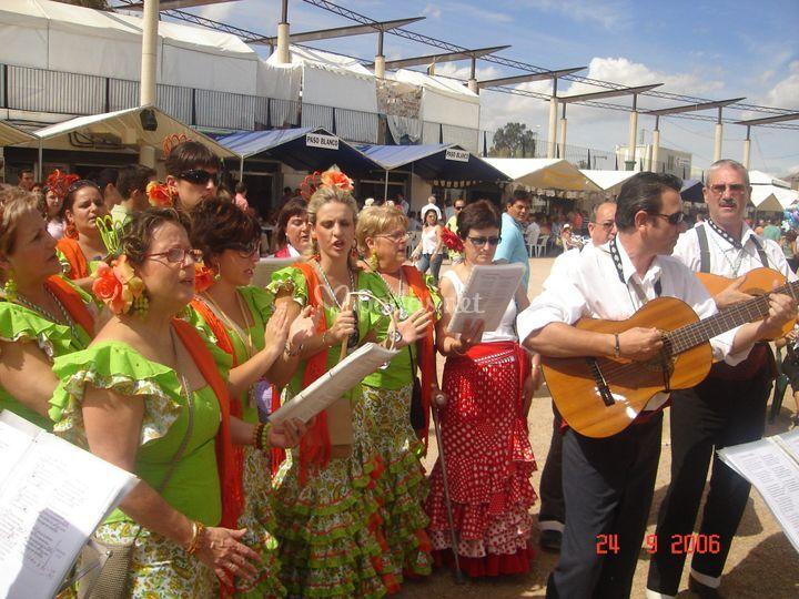 Actuación en Lorca 2008
