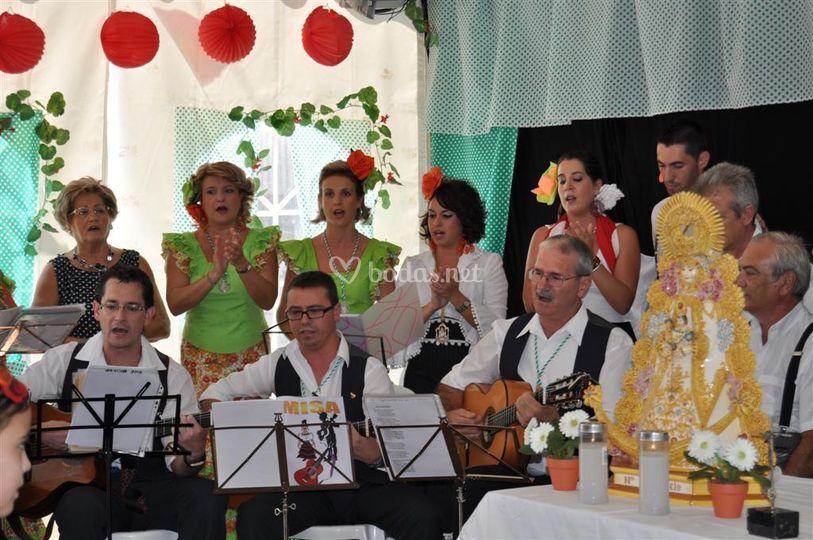 Misa Rociera en Feria de Alhama