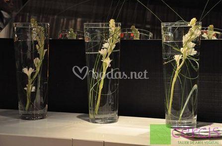 Floristería y arte vegetal para la boda