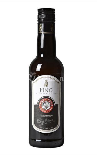 Botella de vino Fino 37.5cl