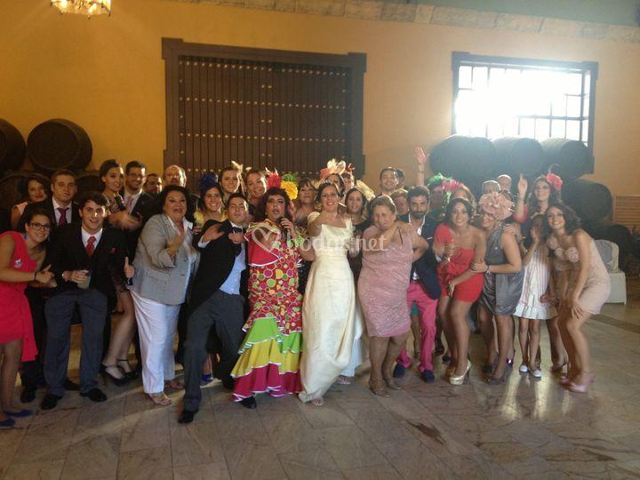 Show man bodas