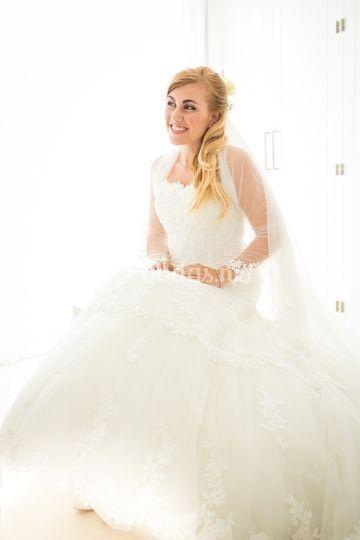 Preciosa novia Nika