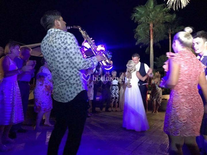Bodas/primer baile
