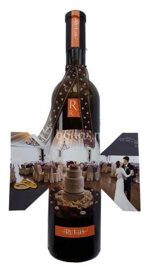 Botellas de vino personalizada