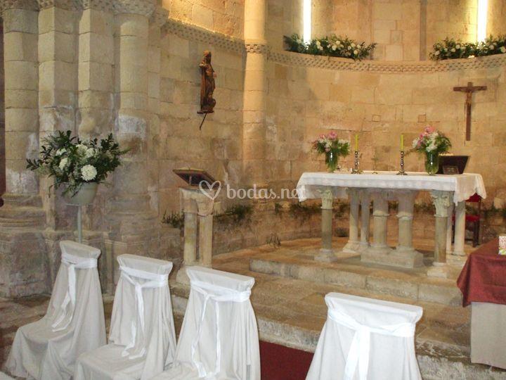 Altar revestido
