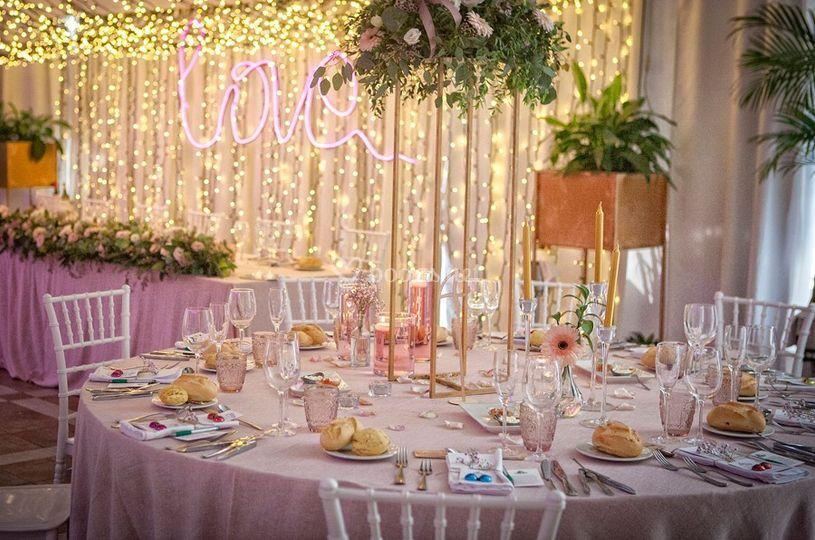 Romántica en rosa