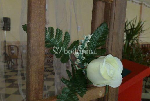 Decoración de espacios para la boda