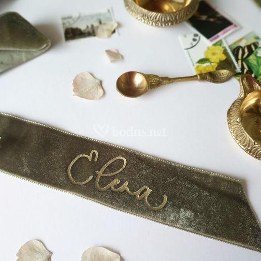 Lazo para ramo de novia