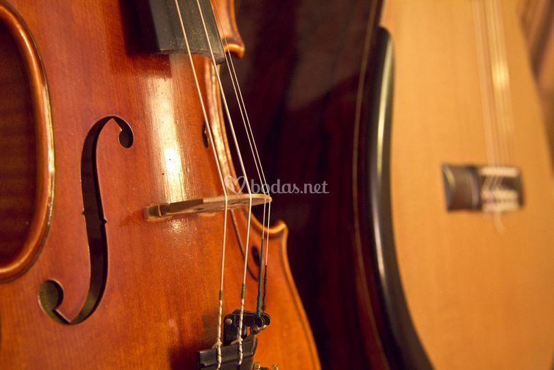 Dúo de violín y guitarra para bodas