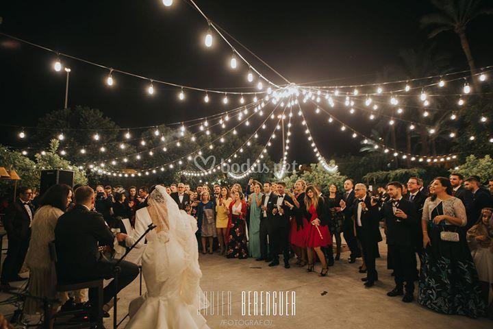 Cóctel de boda en La Magrana