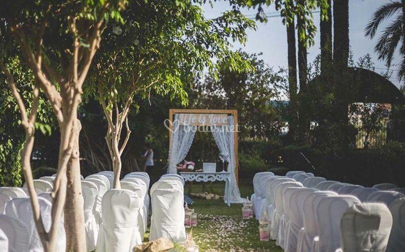 Ceremonias exteriores