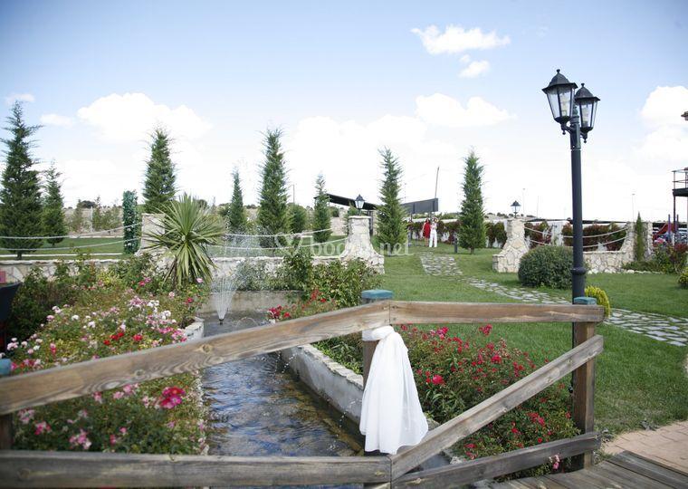 Panoramica jardines