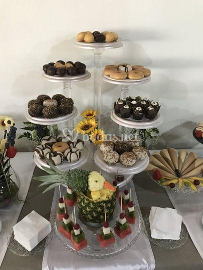 Detalle buffet postres