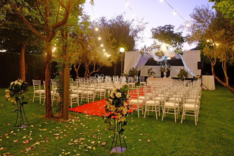 Jardines para bodas civiles