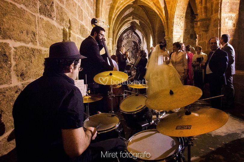 Boda en el Monasterio de Piedra