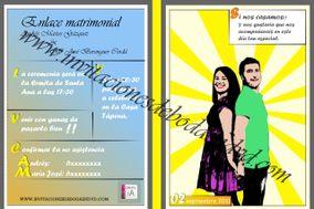 Invitaciones de boda en dvd