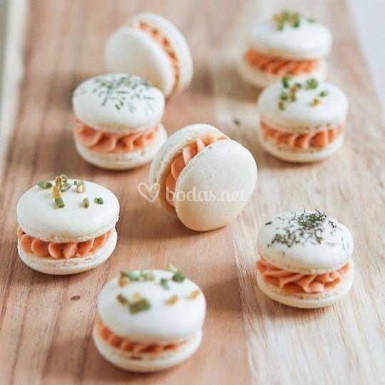 Macarons salados