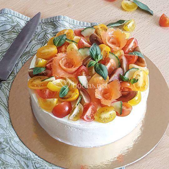 Sandwich cake salado