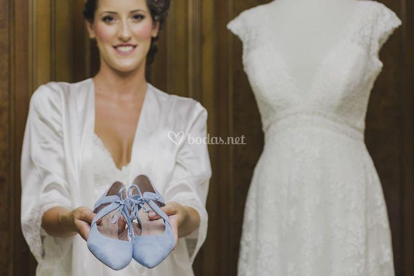 Isa, maquillaje de novia