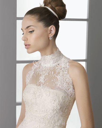 La elegancia de la novia