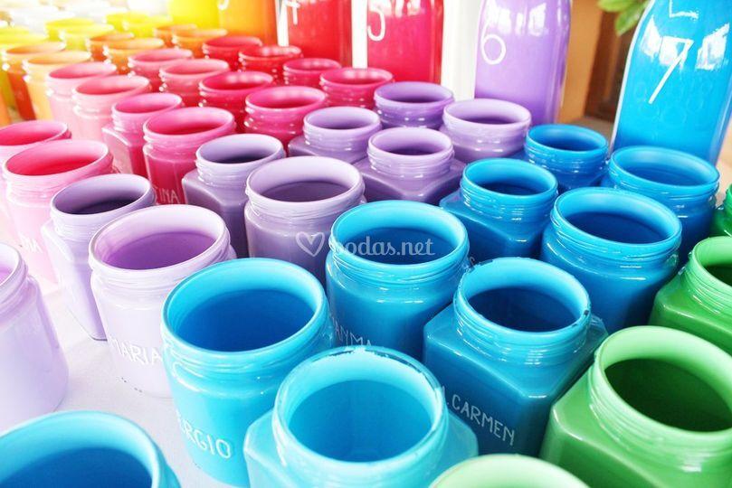 Bodas con color