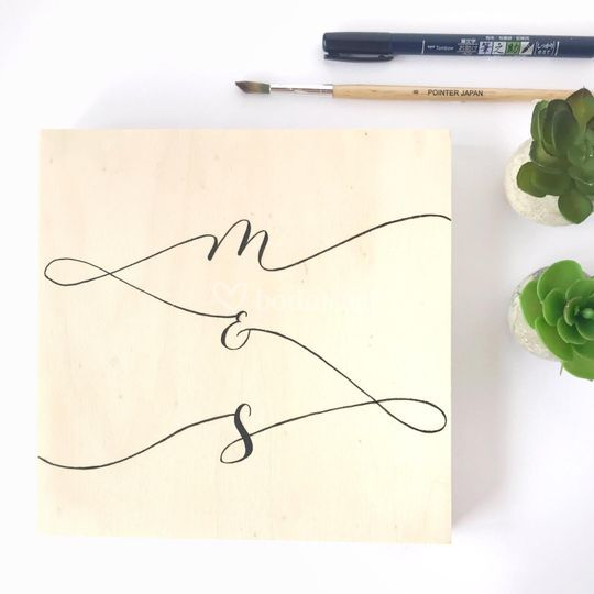 Letter together